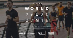 Allianz presenta: Kilómetros solidarios, convertí tus pasos en sillas de ruedas