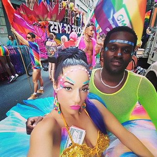 #Pride #houseofyes #rainbow #costume #fl