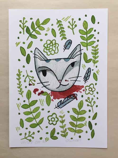 Jungle Cat 1 5x7 Print