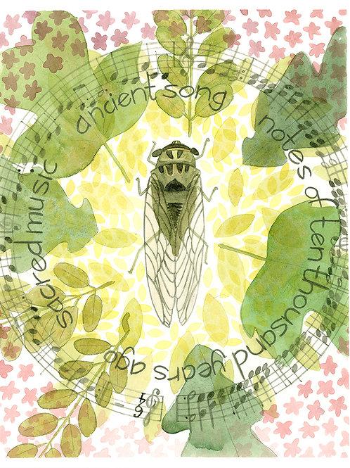Locust 8x10 Print