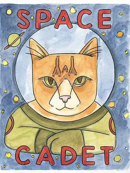 Space Cadet 8x10 Print