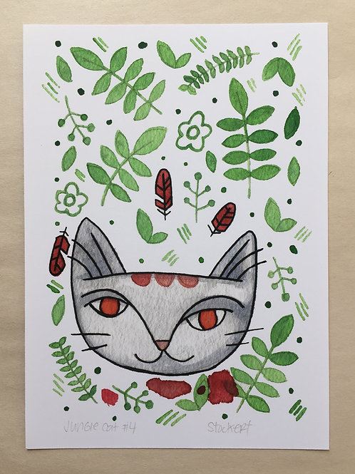 Jungle Cat 4 5x7 Print