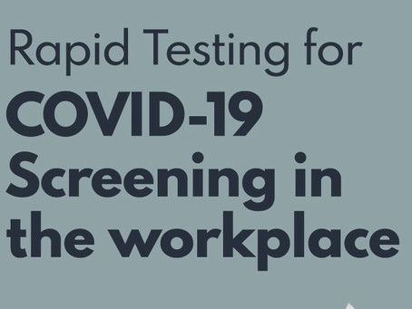 Rapid Antigen Screening Kits For Businesses