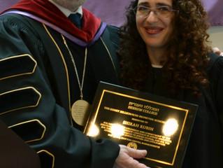 Hebrew College Honored Shirah Rubin