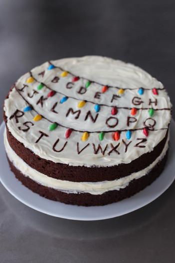Stranger Things 3 Musketeers Cake