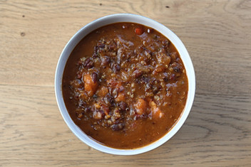 The Most Delicious Vegan Quinoa Chili
