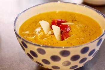 Butternut Squash Soup (vegan!)