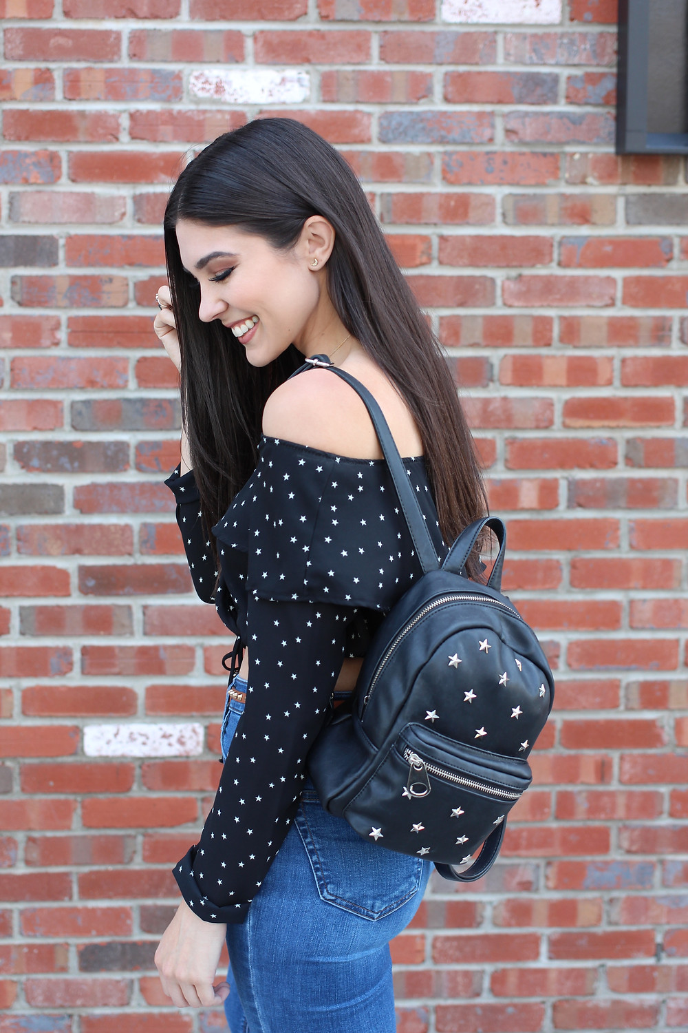 Star print outfit © Cathy Kelley
