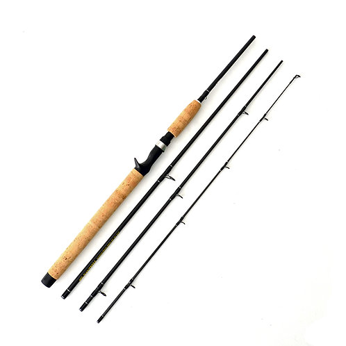 8'6' 15-30lb Moderate Heavy Casting 4pc