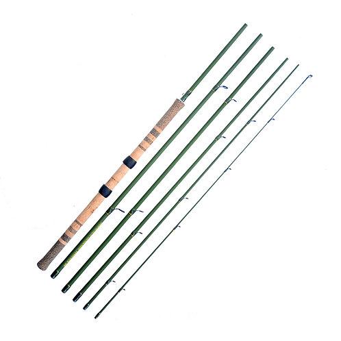 "13'6"" 8-12lb Light Centerpin 6pc Float Rod"