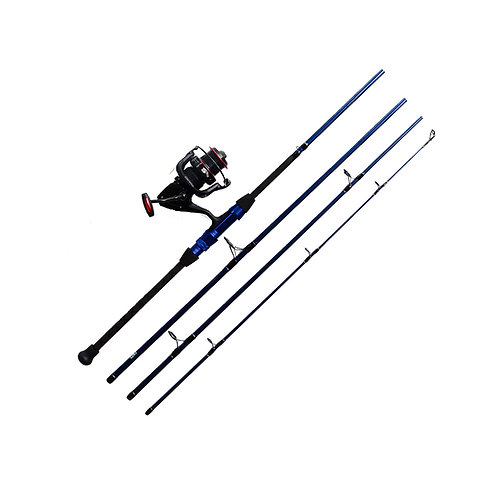 "9'0"" 12-25 Surf Spinning Rod and Saltwater Reel Combo 4pc"