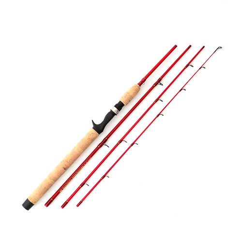 7'6 4-10lb Kokanee Glass Ultralight 4pc