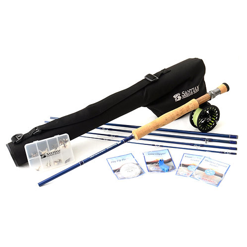"""9'0"""" 7/8wt Fly Rod Outfit 5pc"""