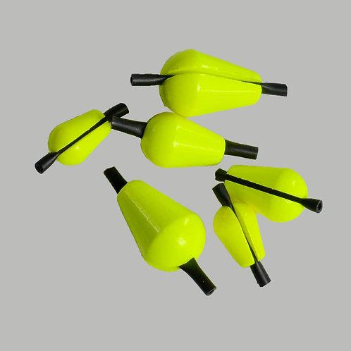 Strike Indicators/Yellow 10 pk