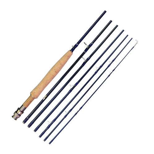 "9'0"" 3/4wt Graphite Fly Rod 7pc"