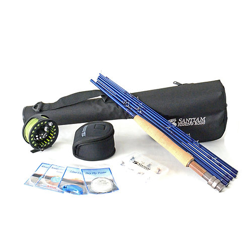 "9'0"" 3/4wt Fly Rod Outfit 7pc"