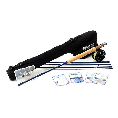 "8'0"" 5/6wt Fly Rod Outfit 5pc"
