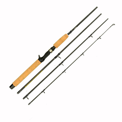 7'6' 6-12lb Medium Light Casting 4pc