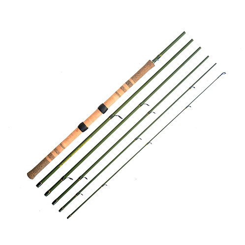 "11'6"" 6-10lb Light Centerpin 6pc Float Rod"