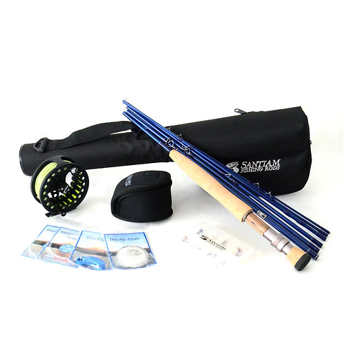 "9'0"" 7/8wt Fly Rod Outfit 7pc"