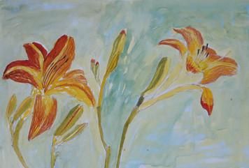 Blomsterskisser