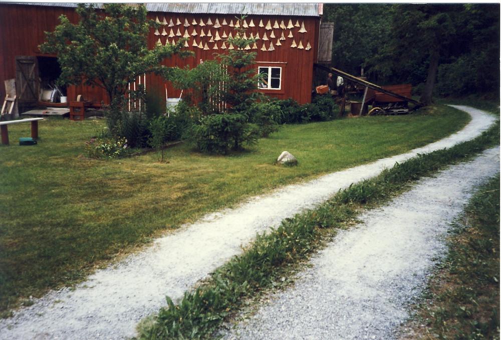 Bergheim hvor Albert og Helga vokste opp med foreldre Anna og Bernt fra 1885 til 1899