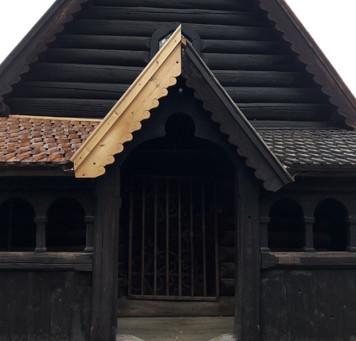 500 år gammel bygning