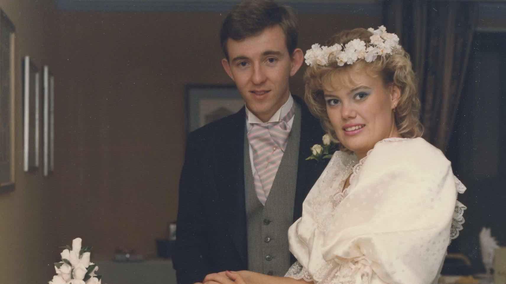 wedding photo 1987