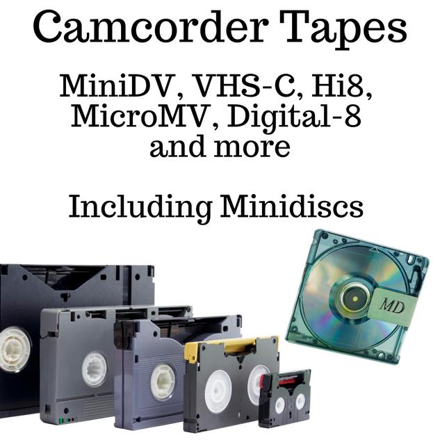 Camcorder tape to digital