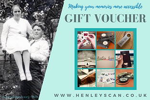 Henley Scan Gift Voucher