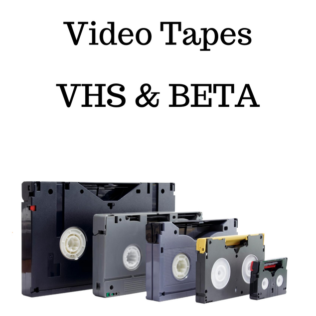 VHS BETA video to digital