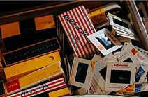 box of photos slides tapes scan restore digitise