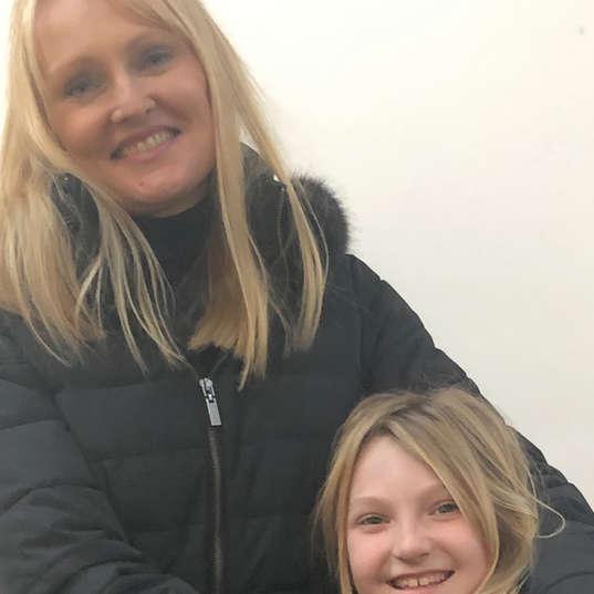 Tanya and daughter