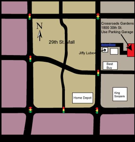 Locatoin Map - Visionary Massage