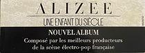 Alizee - Une enfant du siècle Sticker