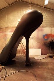 """Chaussure """"Mes courants Electriques"""" La Conception"""