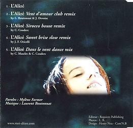 Lalize Maxi CD Verso.jpg