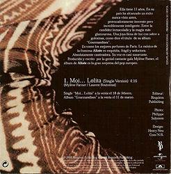 Alizee CD PROMO Monotitre Espagne