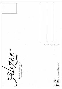 Alizée - Parler tout bas - CP FR promo 0