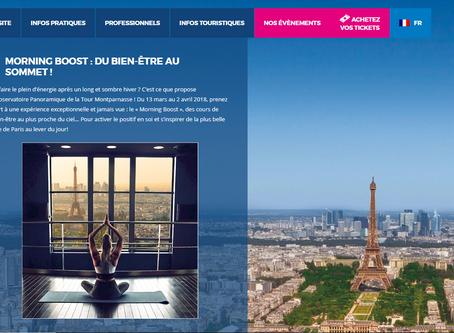 Le MORNING BOOST de l'Observatoire Panoramique de la Tour Montparnasse