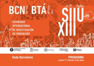 Seminario Internacional de Investigación em Urbanismo Barcelona 2021