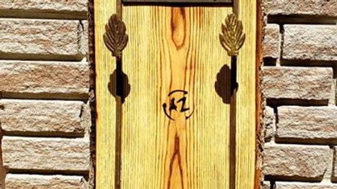 Porte serviette en frêne