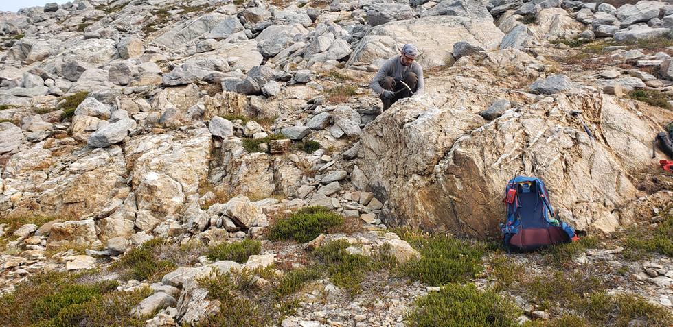 Icefields Gold Project - Vertebrae Ridge Property - British Columbia, Canada