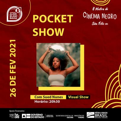Pocket Show   Sued Nunes - Visual Show