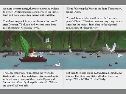 The River: A Dream Wonderland Bedtime Story