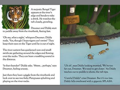 The River: A Dream Wonderland Bedtime Story