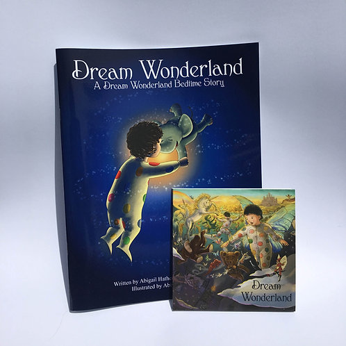 Dream Wonderland CD, plus Book 1 Combo