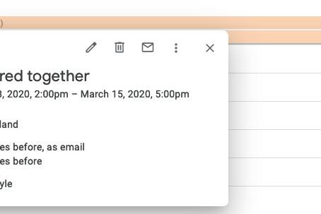 Google Calendar and You
