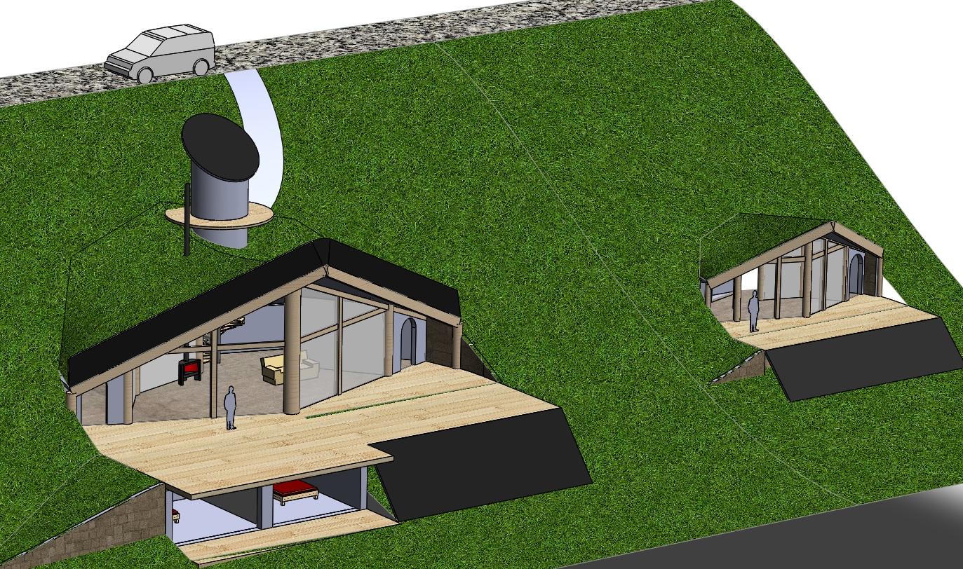 Maison Bioclimatique Modulaire