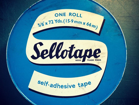 Selling in a pandemic.  Sellotape required